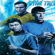 Star Trek - The Original Series Space Shadows Sublimation Shirts