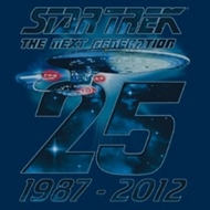 Star Trek Shirts - TNG 25th Anniversary T-Shirts