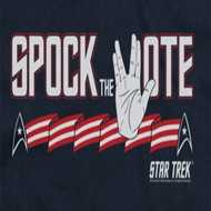 Star Trek Spock The Vote Shirts