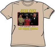 Star Trek T-shirt - Episode 77 The Savage Curtain Adult Sand