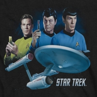 Star Trek The Main Three Shirts