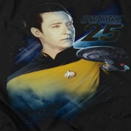 Star Trek - The Next Generation Data 25th Shirts