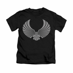 Star Trek - The Next Generation Shirt Kids Romulan Logo Black Youth Tee T-Shirt