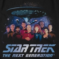 Star Trek - The Next Generation Space Group Shirts