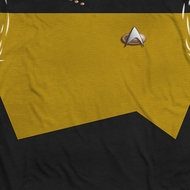 Star Trek - The Next Generation TNG Engineering Uniform Sublimation Shirts