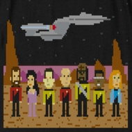 Star Trek - The Next Generation TNG Trexel Crew Shirts
