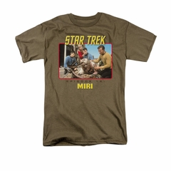 Star Trek - The Original Series Shirt Episode 12 Adult Safari Green Tee T-Shirt