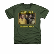 Star Trek - The Original Series Shirt Episode 27 Adult Heather Military Green Tee T-Shirt
