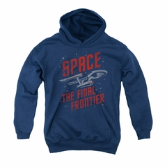 Star Trek - The Original Series Youth Hoodie Space Travel Navy Kids Hoody