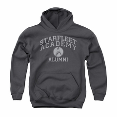 Star Trek Youth Hoodie Alumni Charcoal Kids Hoody