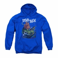 Star Trek Youth Hoodie Vulcan Battle Royal Blue Kids Hoody