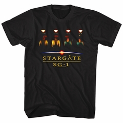 Stargate SG-1 Shirt VR Pods Black T-Shirt