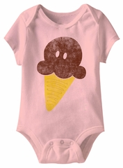Stay Cool Funny Baby Romper Pink Infant Babies Creeper