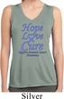 Stomach Cancer Hope Love Cure Ladies Dry Wicking Tank Top