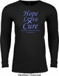 Stomach Cancer Tee Hope Love Cure Thermal Shirt