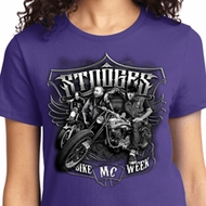 Stooges Bike Week Ladies Shirts