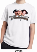 Stooges Faces Kids Shirts