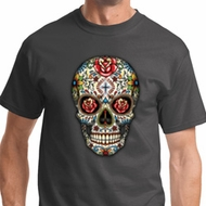 Sugar Skull with Roses Shirts
