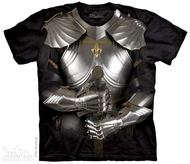 Suit Of Armor Shirt Tie Dye Adult T-Shirt Tee