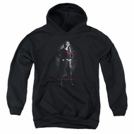 Supergirl Kids Hoodie Noir Black Youth Hoody