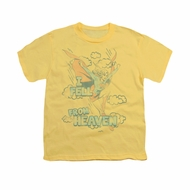Supergirl Shirt Heaven Kids Banana Youth Tee T-Shirt