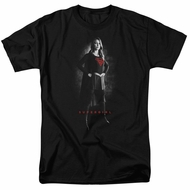 Supergirl Shirt Noir Black T-Shirt