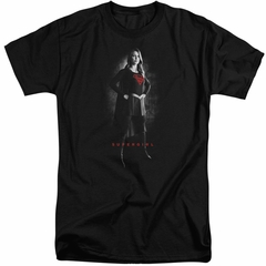 Supergirl Shirt Noir Black Tall T-Shirt