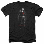 Supergirl Shirt Noir Heather Black T-Shirt