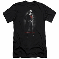 Supergirl Slim Fit Shirt Noir Black T-Shirt