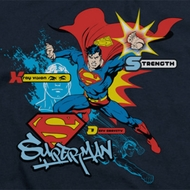Superman Abilities Shirts