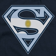 Superman Argentinian Shield Shirts