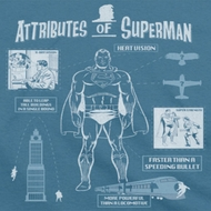 Superman Attributes Shirts