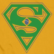 Superman Brazil Shield Shirts