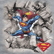 Superman Break Through Shirts