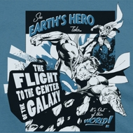 Superman Center Of the Galaxy Shirts