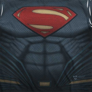 Superman Costume Sublimation Shirts