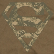 Superman Digi Camo Shield Shirts