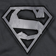 Superman Duct Tape Shield Shirts