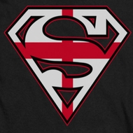 Superman English Shield Shirts
