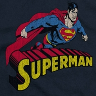 Superman Flying Over Shirts