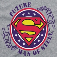 Superman Future Man Of Steel Shirts