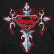 Superman Gothic Cross Shirts