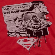 Superman Identity Shirts