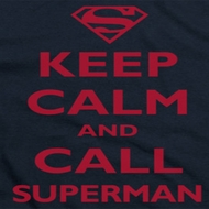 Superman Keep Calm Shirts