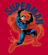 Superman Kids T-shirt A Name To Uphold Youth Red Tee Shirt