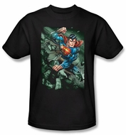 Superman Kids T-shirt DC Comics Superhero Indestructible Shirt Youth