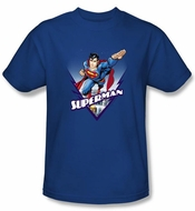 Superman Kids T-shirt Looks Like A Job Royal Blue Tee Youth