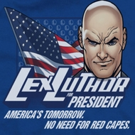 Superman Lex Luthor For President Shirts