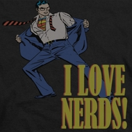 Superman Love Nerds Shirts