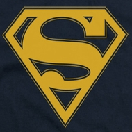 Superman Maize Shield Shirts